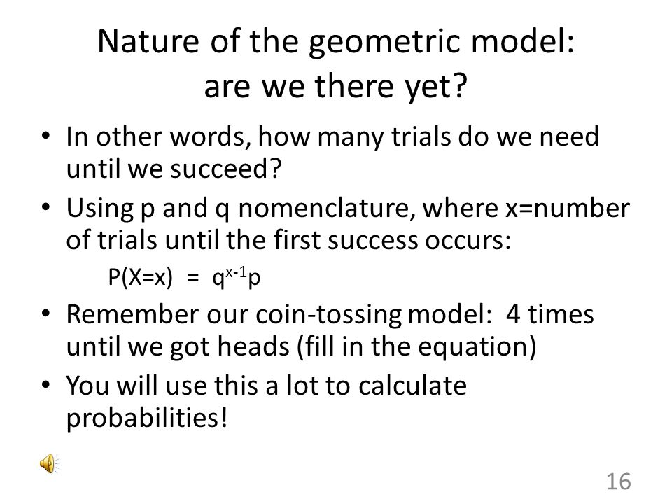 Nature of the geometric model: are we there yet