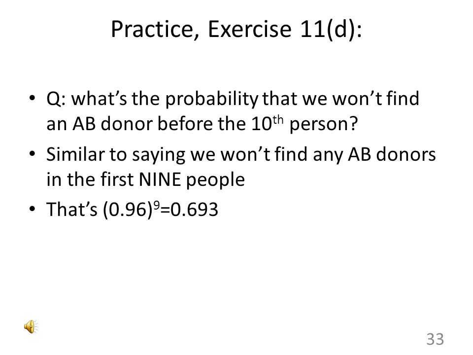 Practice, Exercise 11(d):