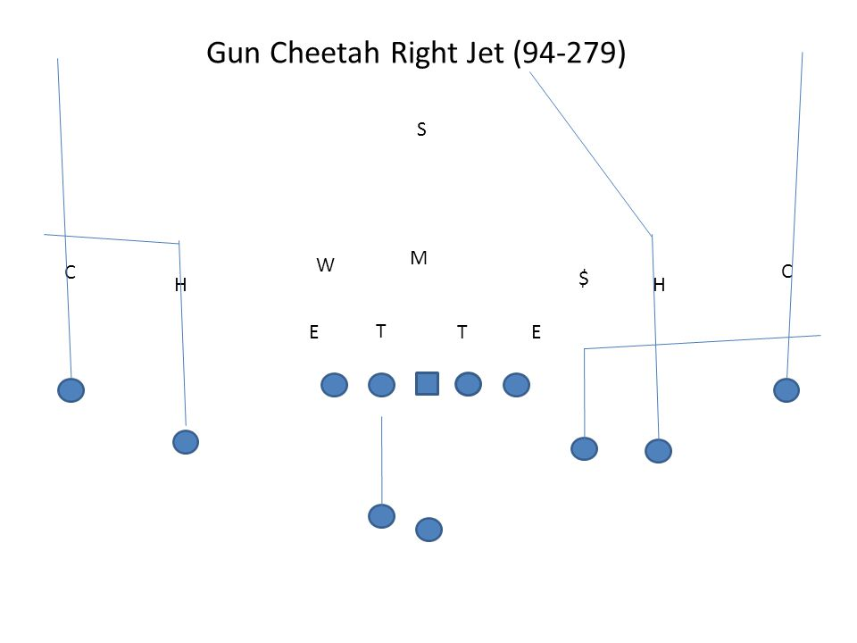 Gun Cheetah Right Jet (94-279)