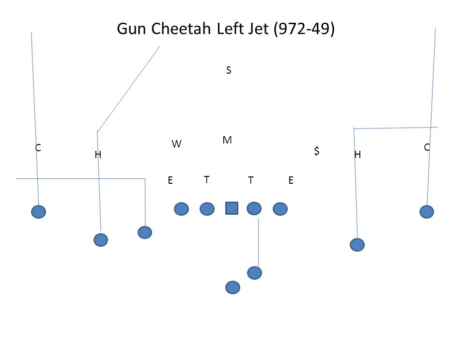 Gun Cheetah Left Jet (972-49)