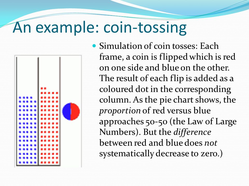 An example: coin-tossing