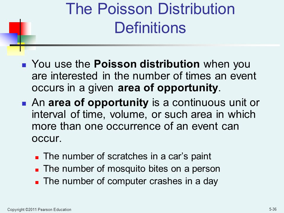 The Poisson Distribution Definitions