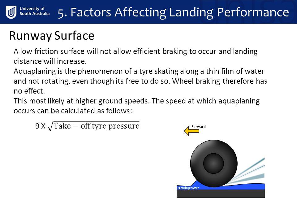 5. Factors Affecting Landing Performance
