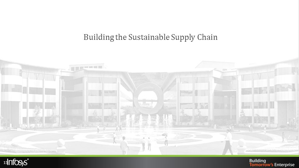 Building the Sustainable Supply Chain