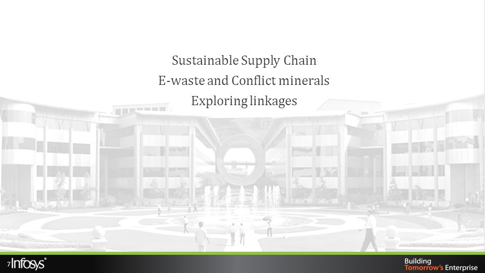 Sustainable Supply Chain E-waste and Conflict minerals