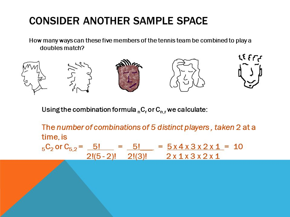 Consider another Sample Space