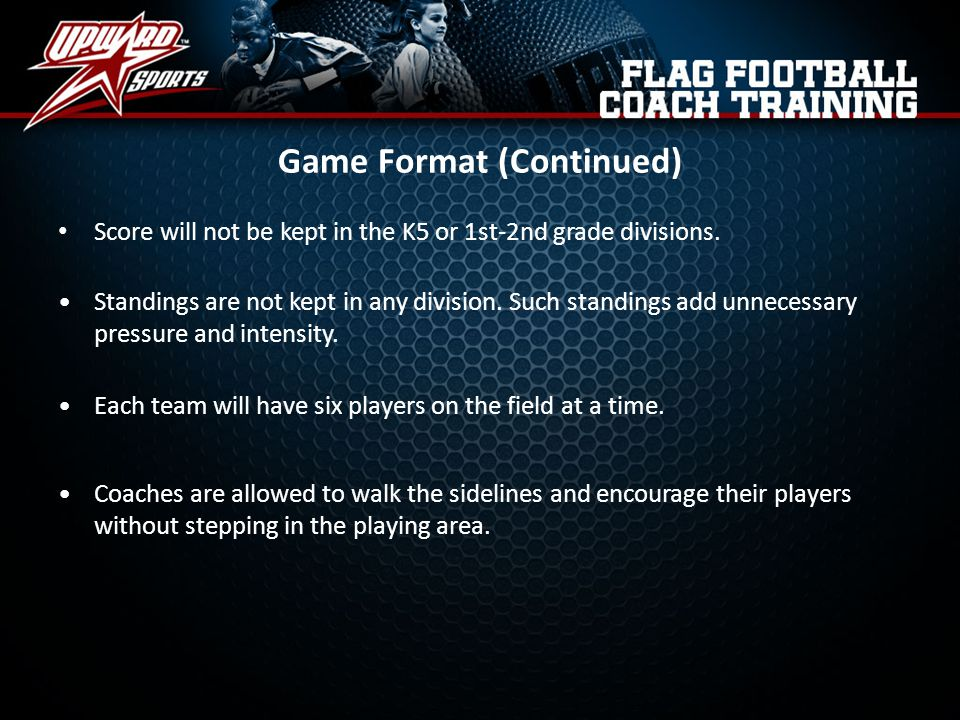 Game Format (Continued)