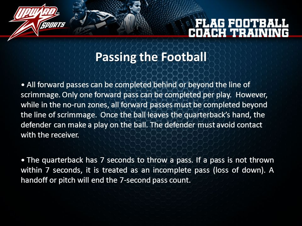 Passing the Football