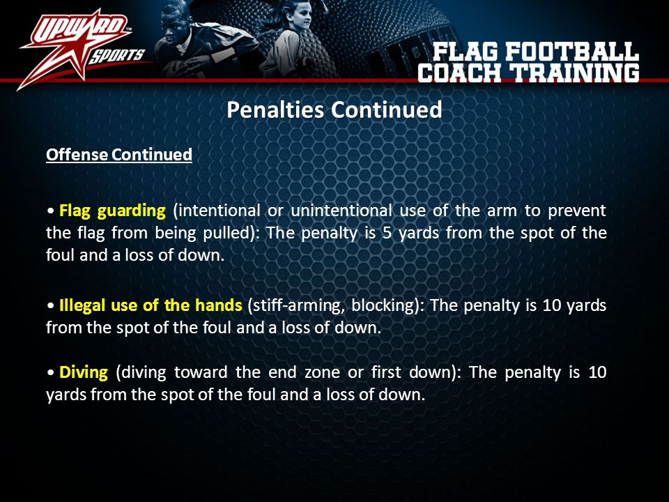Penalties Continued Offense Continued