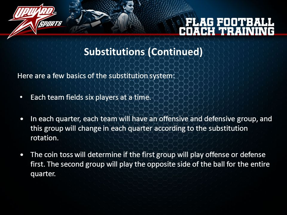 Substitutions (Continued)