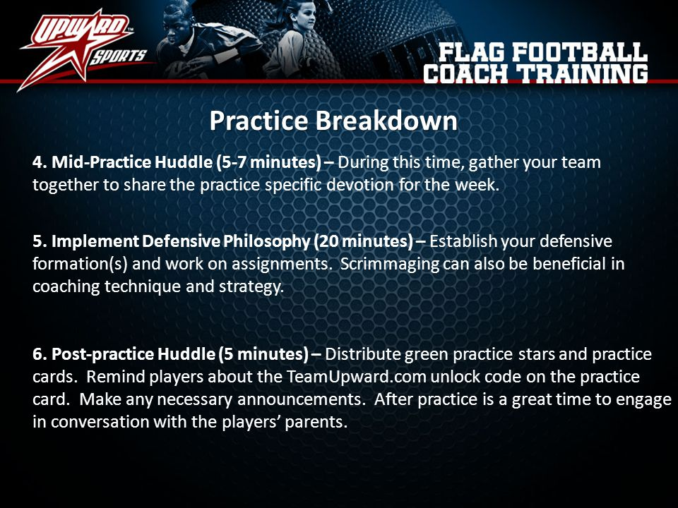 Practice Breakdown