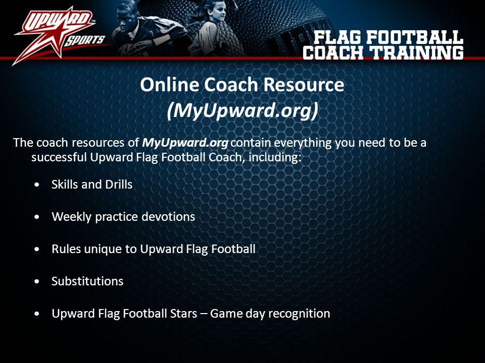 Online Coach Resource (MyUpward.org)