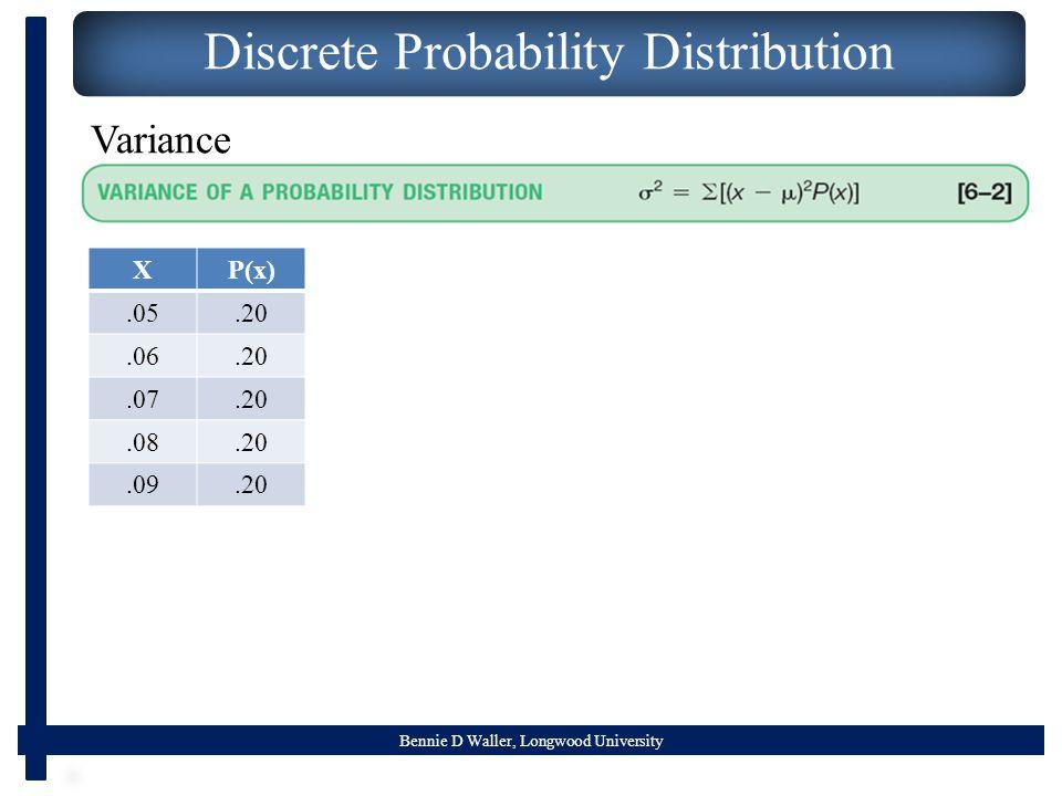 Discrete Probability Distribution