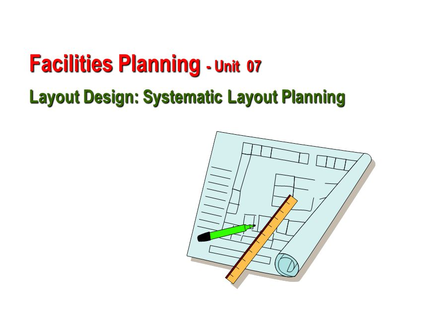 Hierarchy Of Facility Planning Ppt Video Online Download