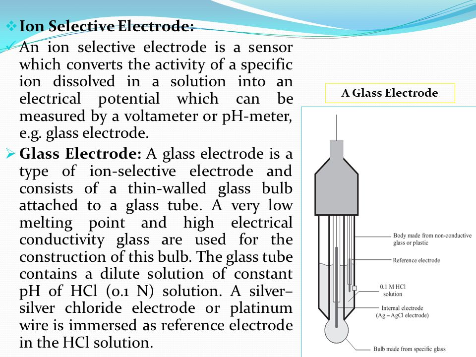 Ion Selective Electrode: