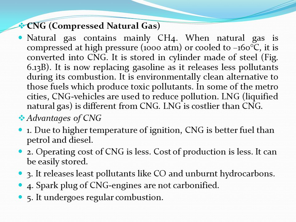 CNG (Compressed Natural Gas)