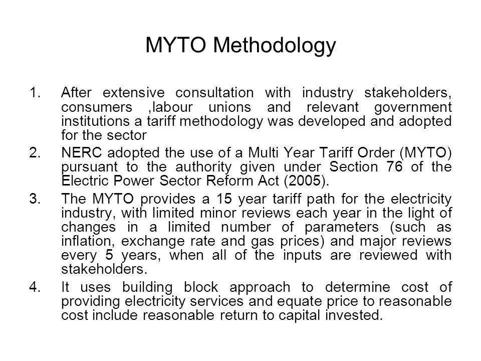 MYTO Methodology