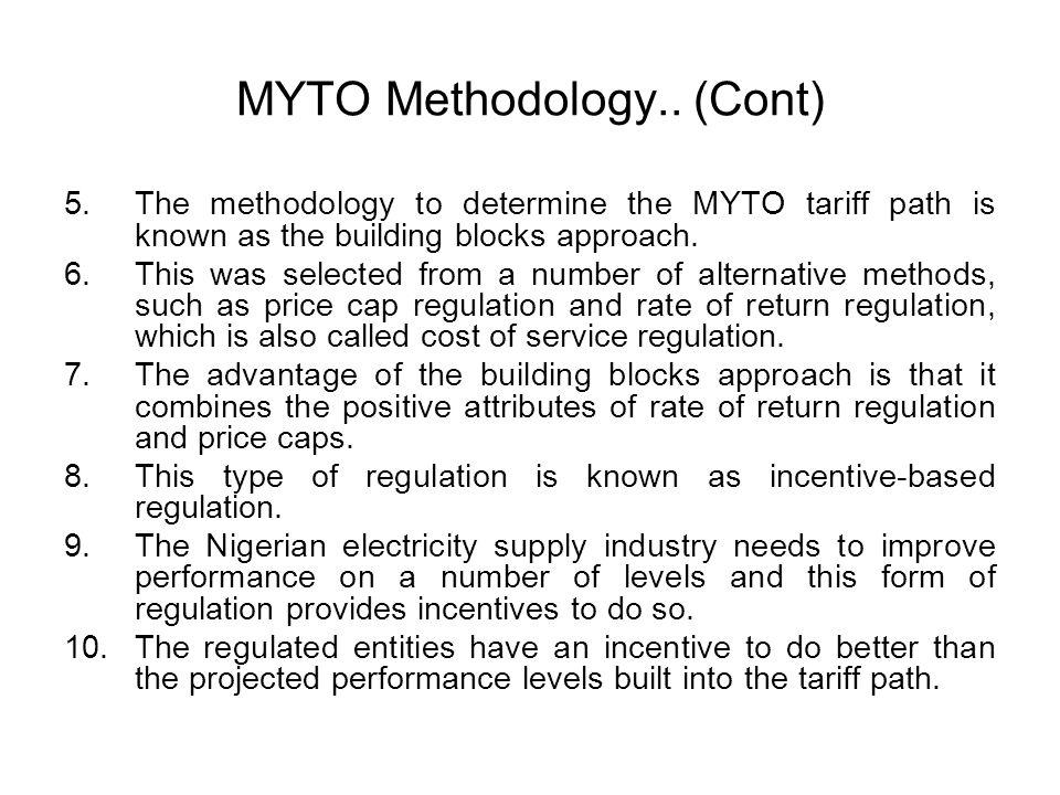 MYTO Methodology.. (Cont)