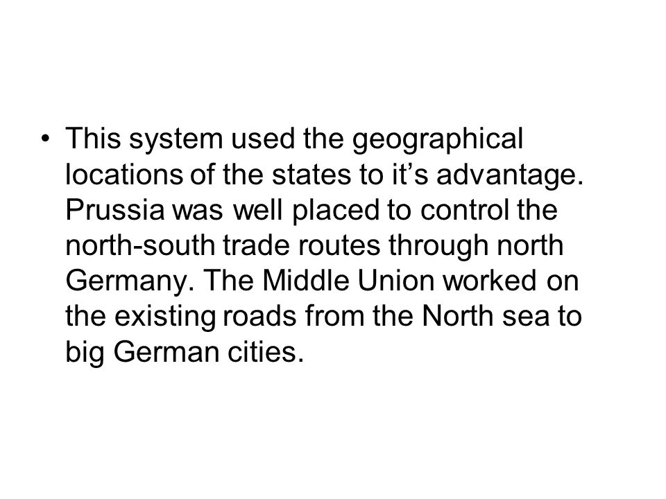 This system used the geographical locations of the states to it's advantage.