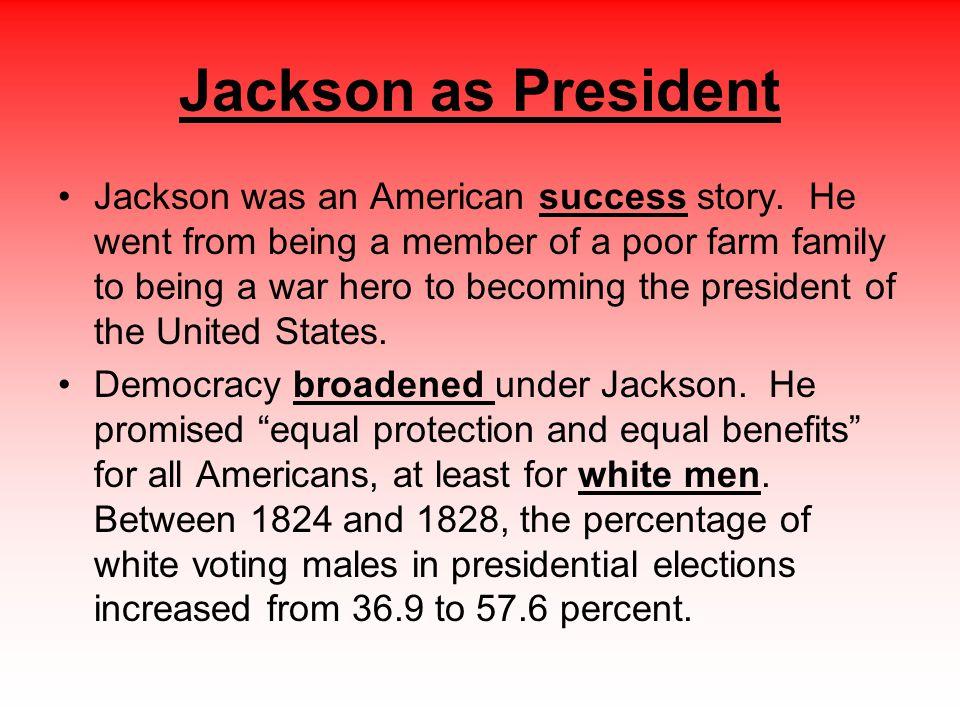 Jackson as President