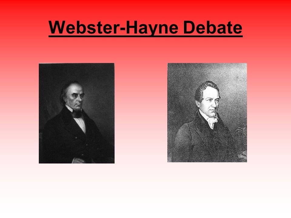 Webster-Hayne Debate