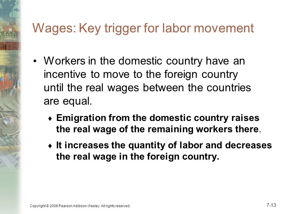 Wages: Key trigger for labor movement