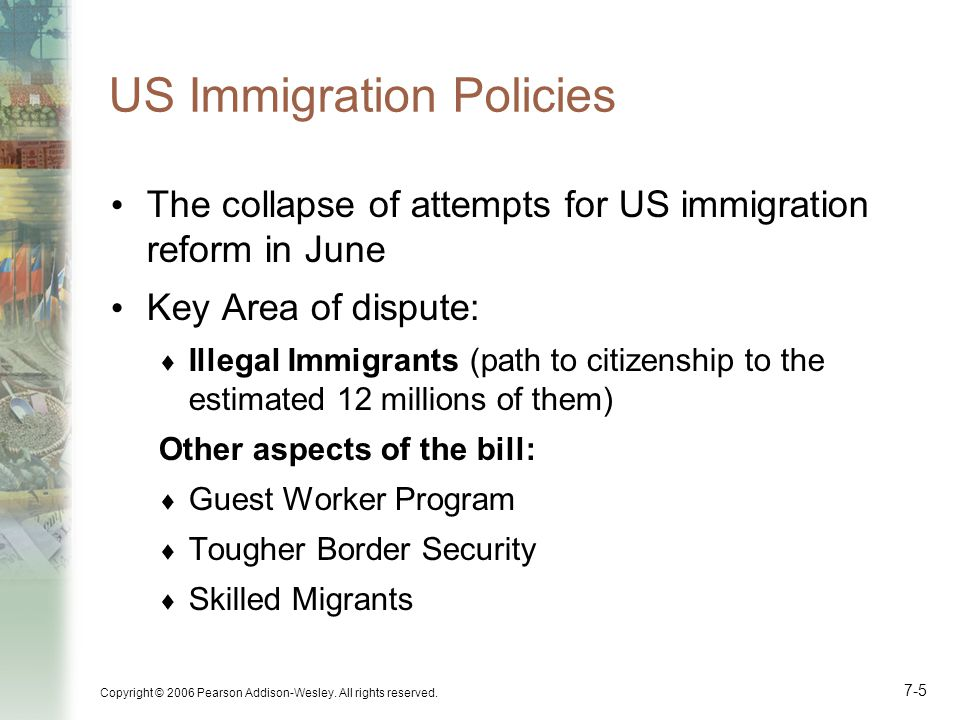 US Immigration Policies