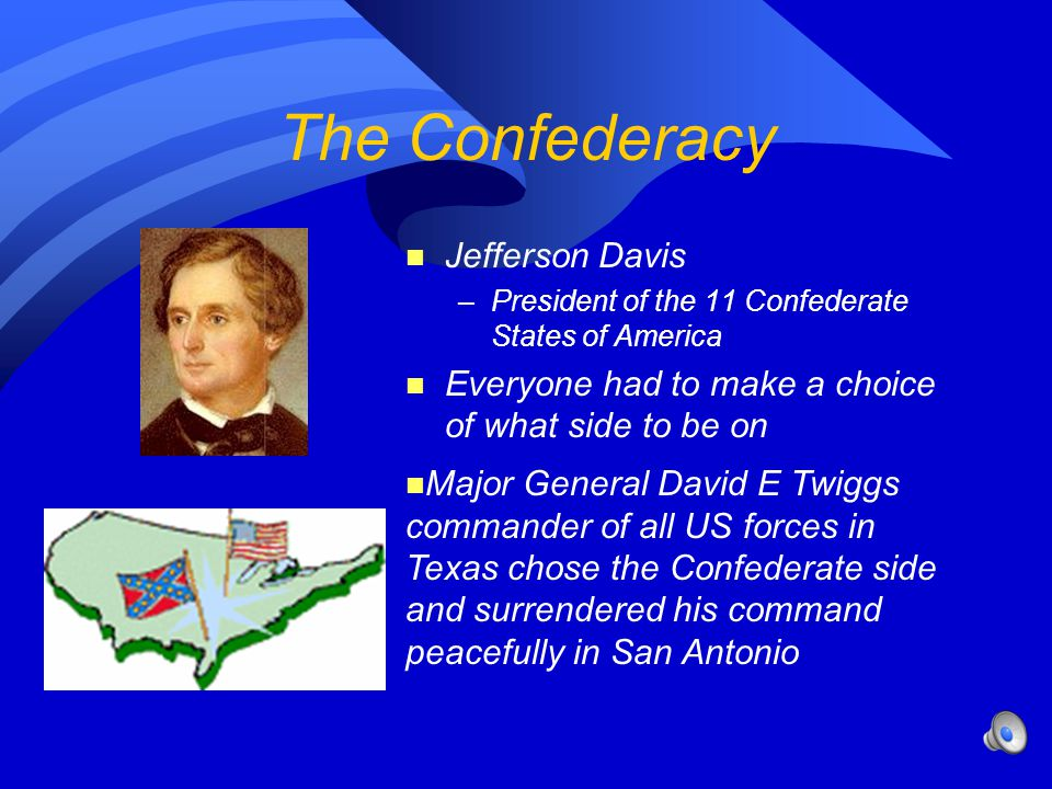 The Confederacy Jefferson Davis