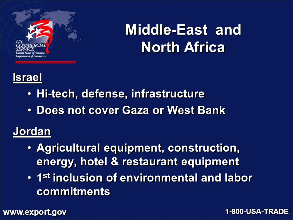 Middle-East and North Africa