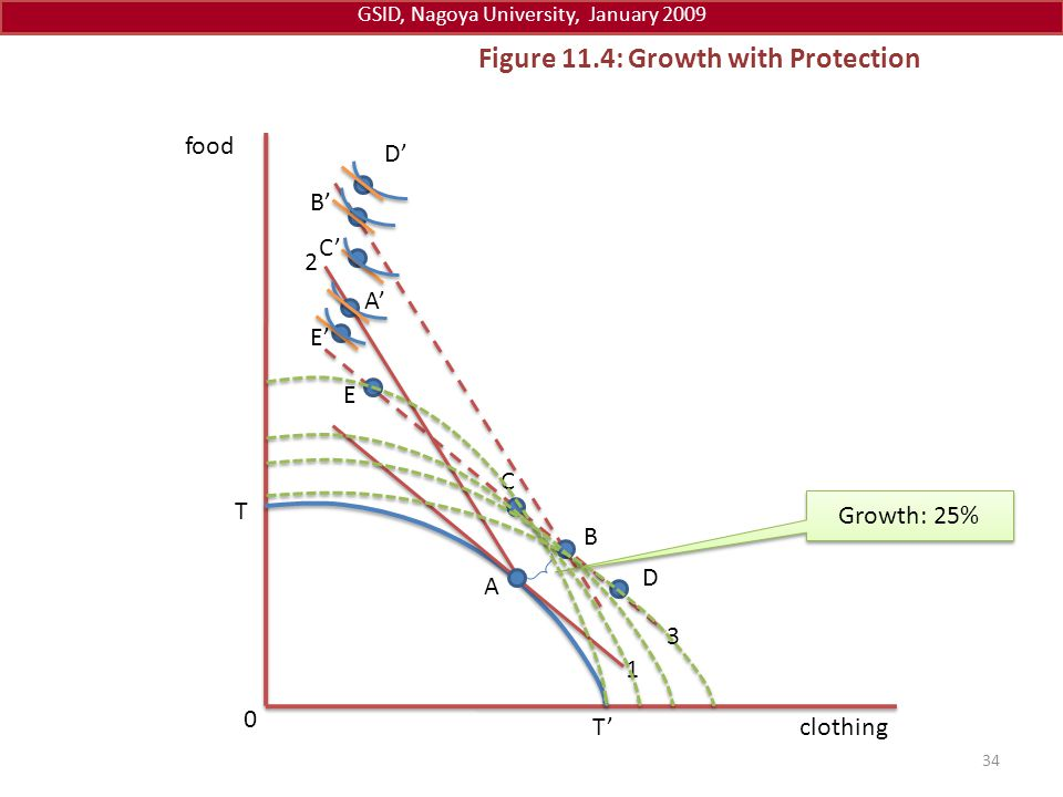 Figure 11.4: Growth with Protection