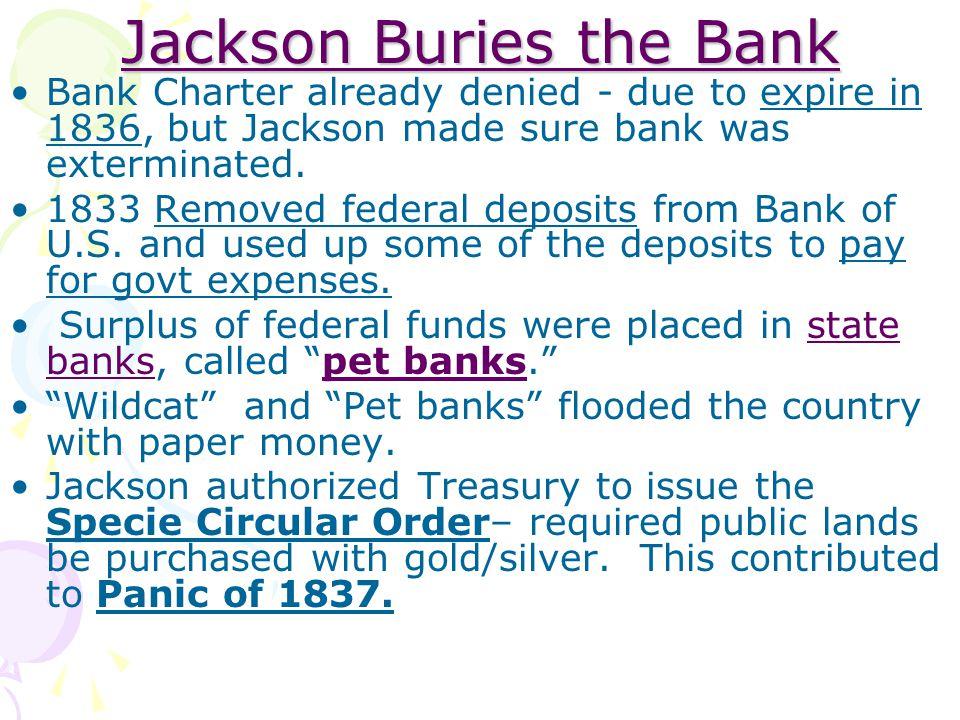 Jackson Buries the Bank