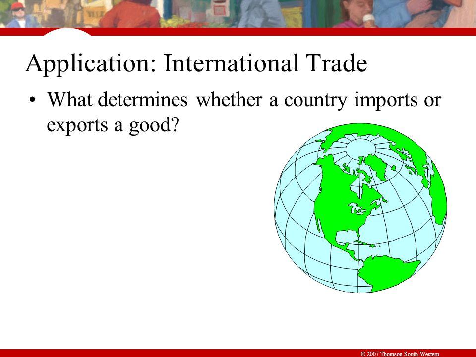 Application: International Trade