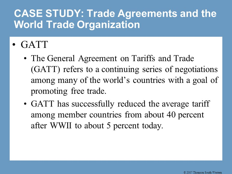 The effects of free trade can be determined by comparing the domestic price without trade to the world price.