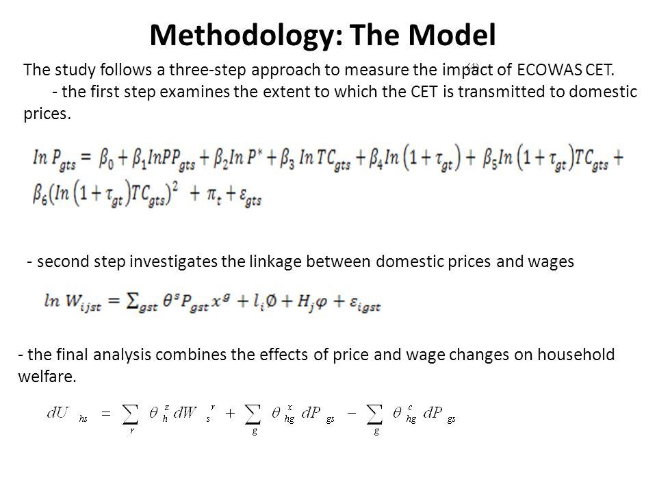Methodology: The Model