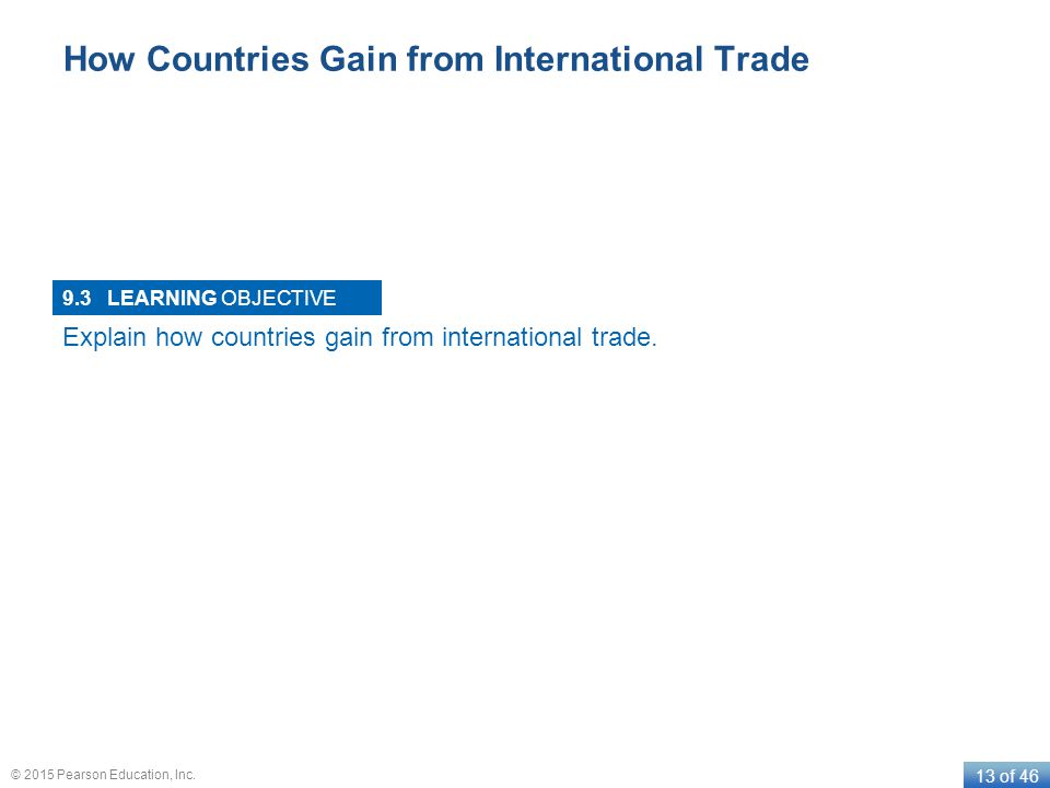How Countries Gain from International Trade