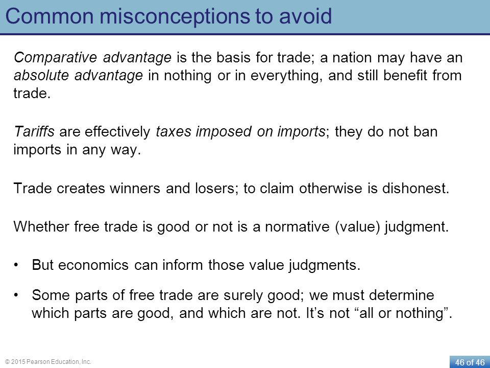 Common misconceptions to avoid