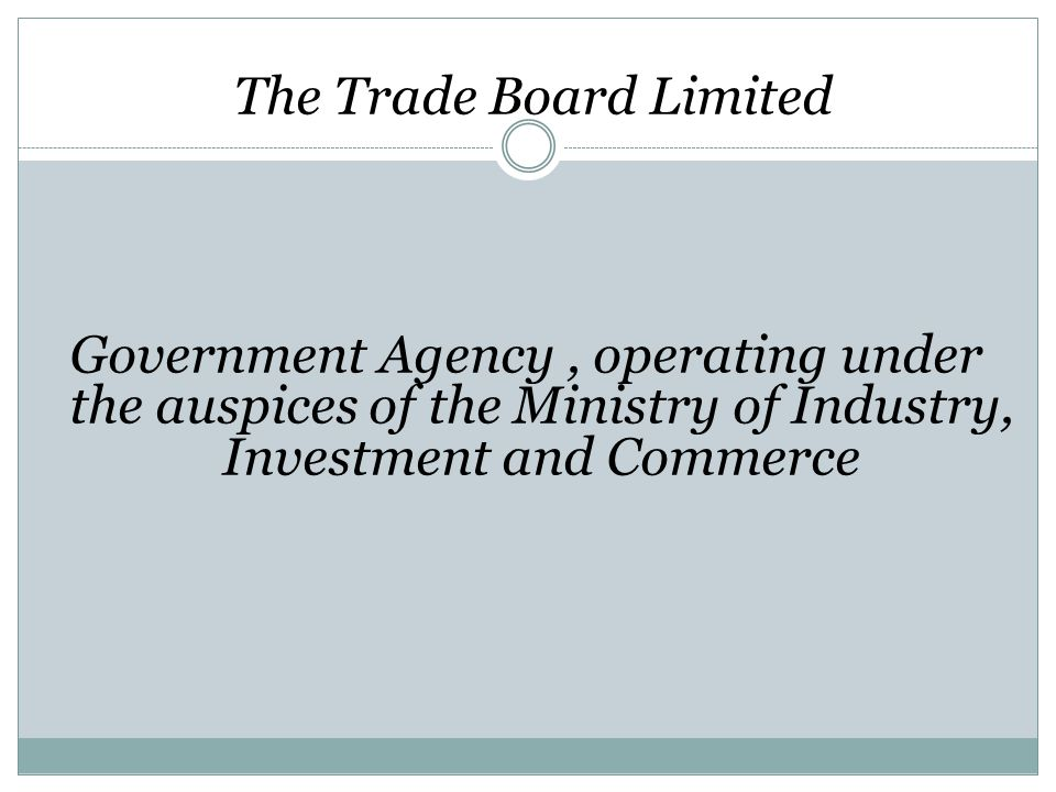 The Trade Board Limited