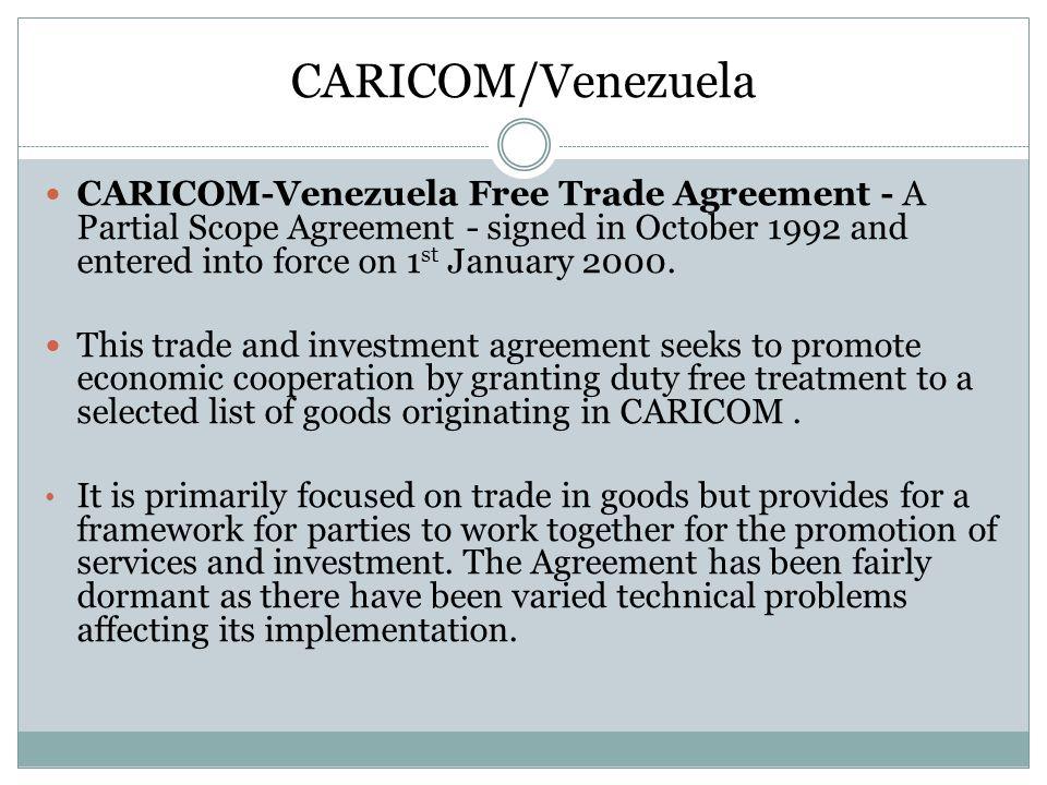 CARICOM/Venezuela