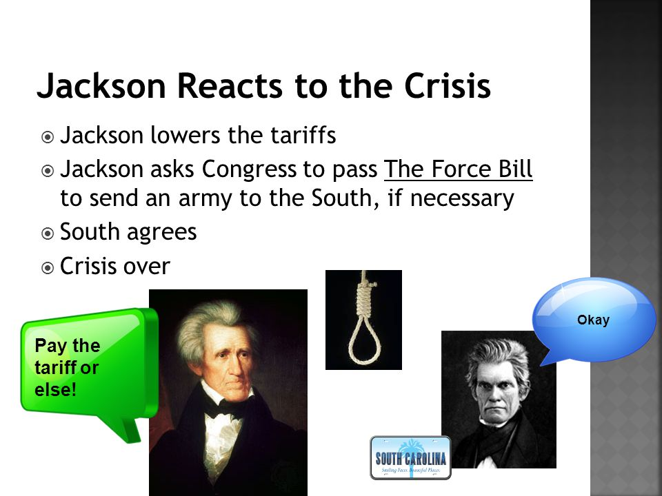 Jackson Reacts to the Crisis