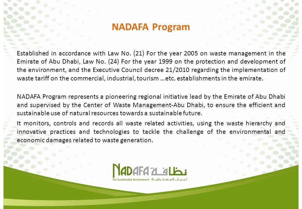 NADAFA Program