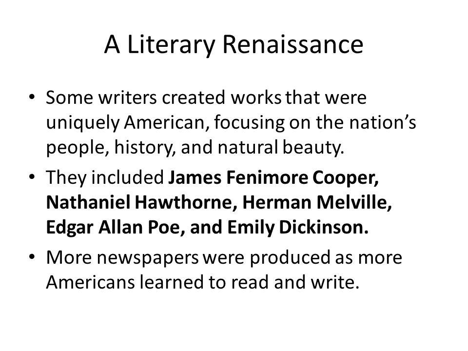 A Literary Renaissance