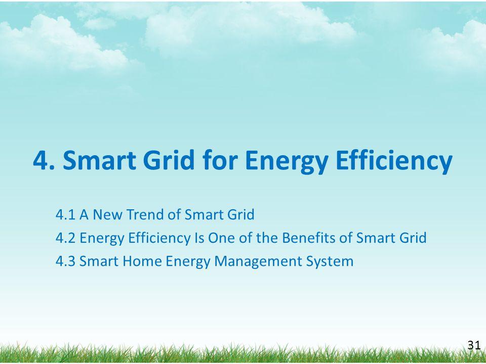 4. Smart Grid for Energy Efficiency