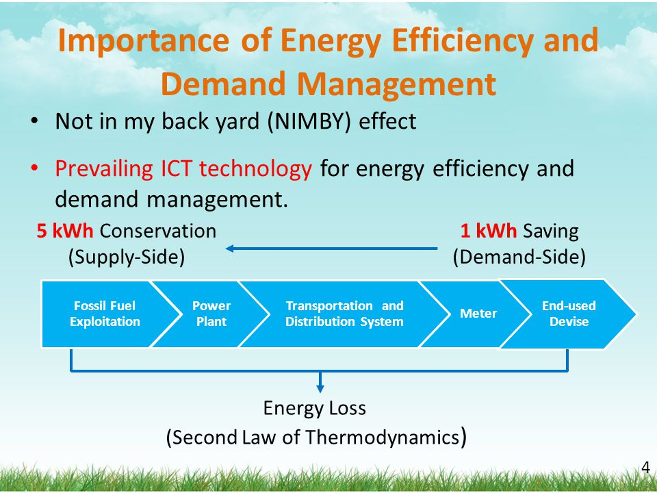 Importance of Energy Efficiency and Demand Management