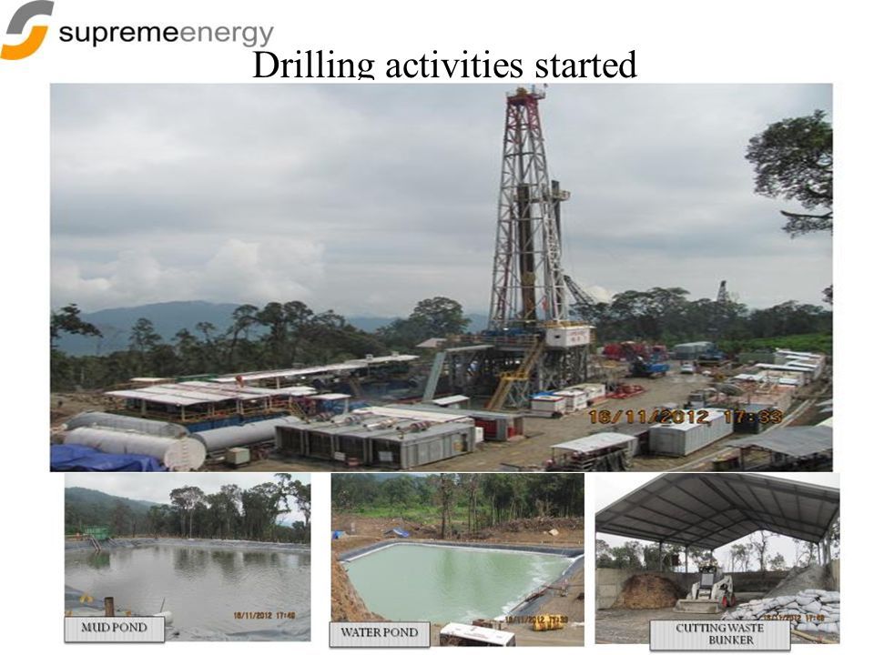 Drilling activities started