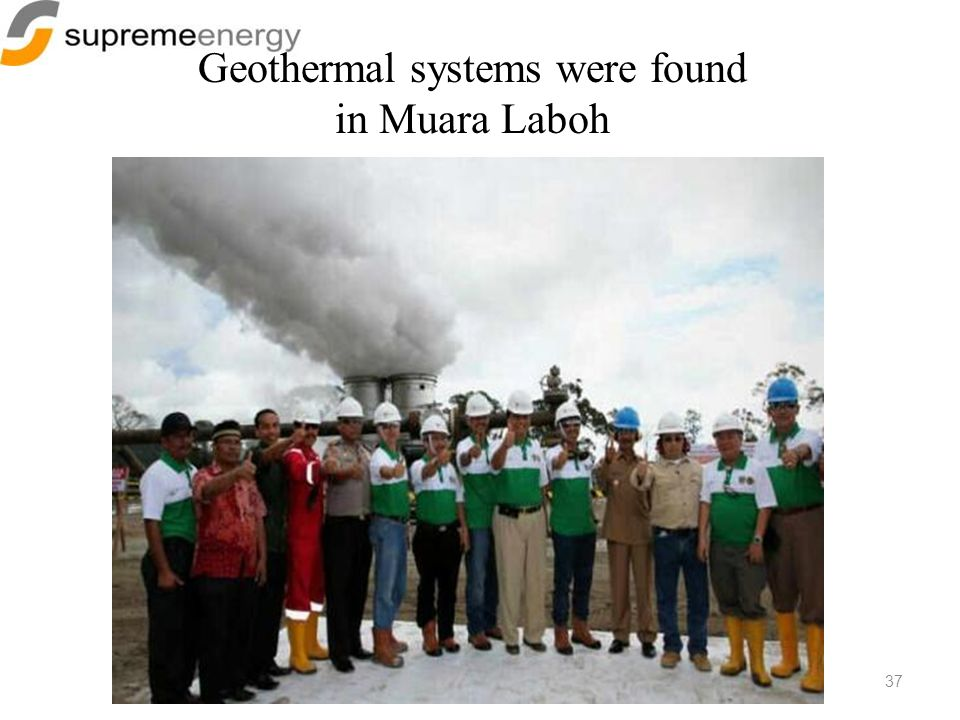 Geothermal systems were found in Muara Laboh