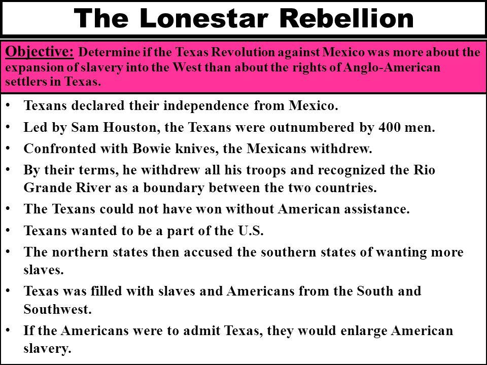 The Lonestar Rebellion