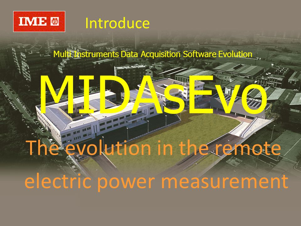Multi Instruments Data Acquisition Software Evolution