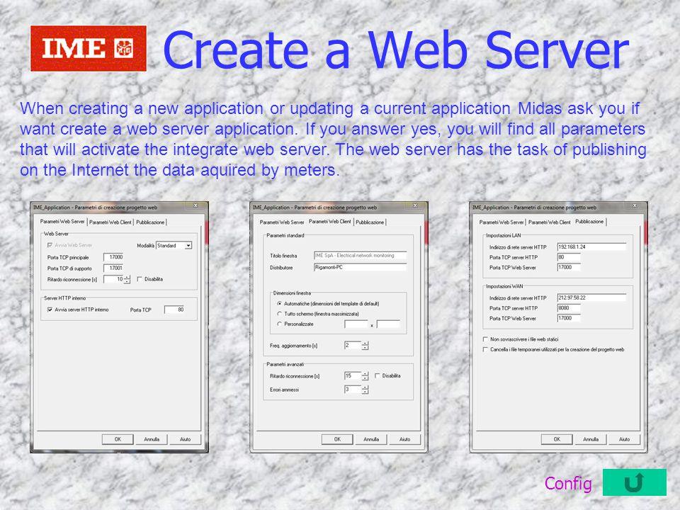 Create a Web Server