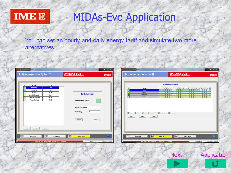 MIDAs-Evo Application
