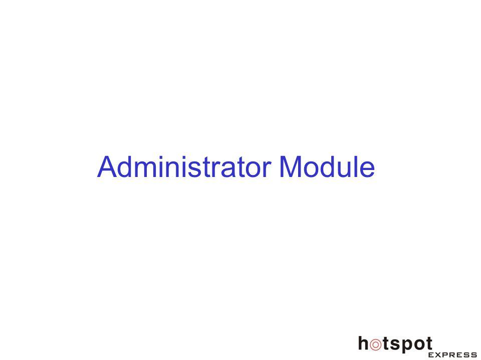 Administrator Module